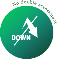 DOWN No double assessment