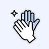 毎回新品の手袋を着用(査定ごとに廃棄)