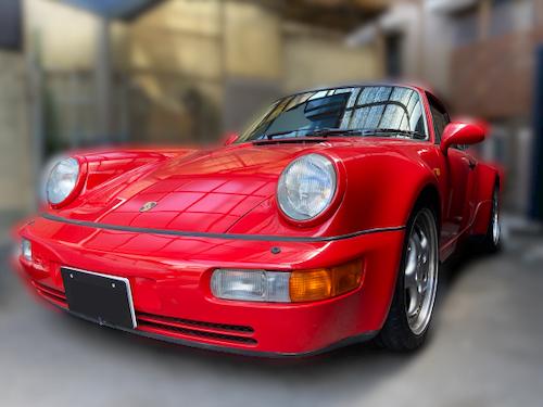 ポルシェ 964 ターボ 3.6