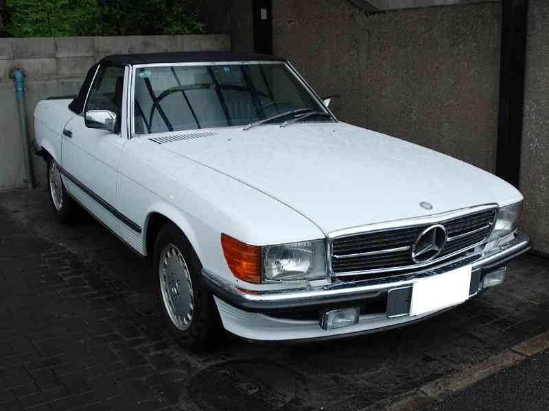 1989年式 メルセデスベンツ R107 (500SL)
